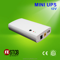 2016 new mini ups DC 12v 2a power bank