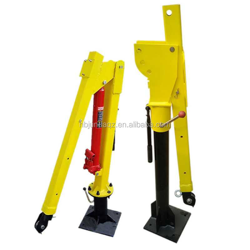 Hydraulic type 500kg 1000kg pickup truck crane for sale