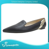 Women Sexy Pointed Toe Soft Black