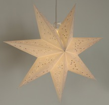decorative display hanging paper star