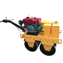 mini road roller compactor / road construction equipments / Walk Behind Hydraulic Small Double Drum Road Roller