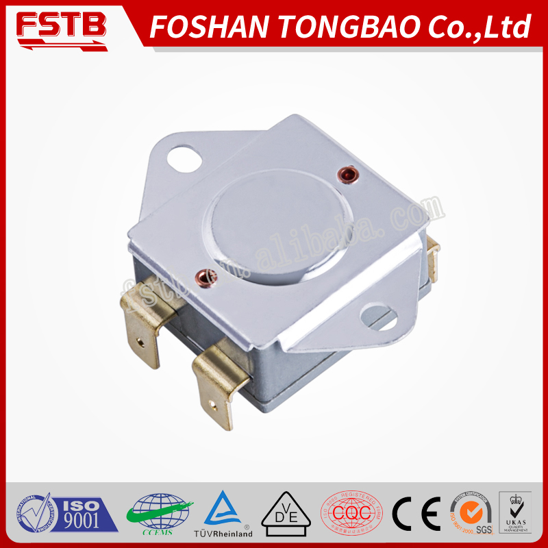 "FSTB KSD302 25A electric heater thermostats, (7/8"") bimetal thermal"