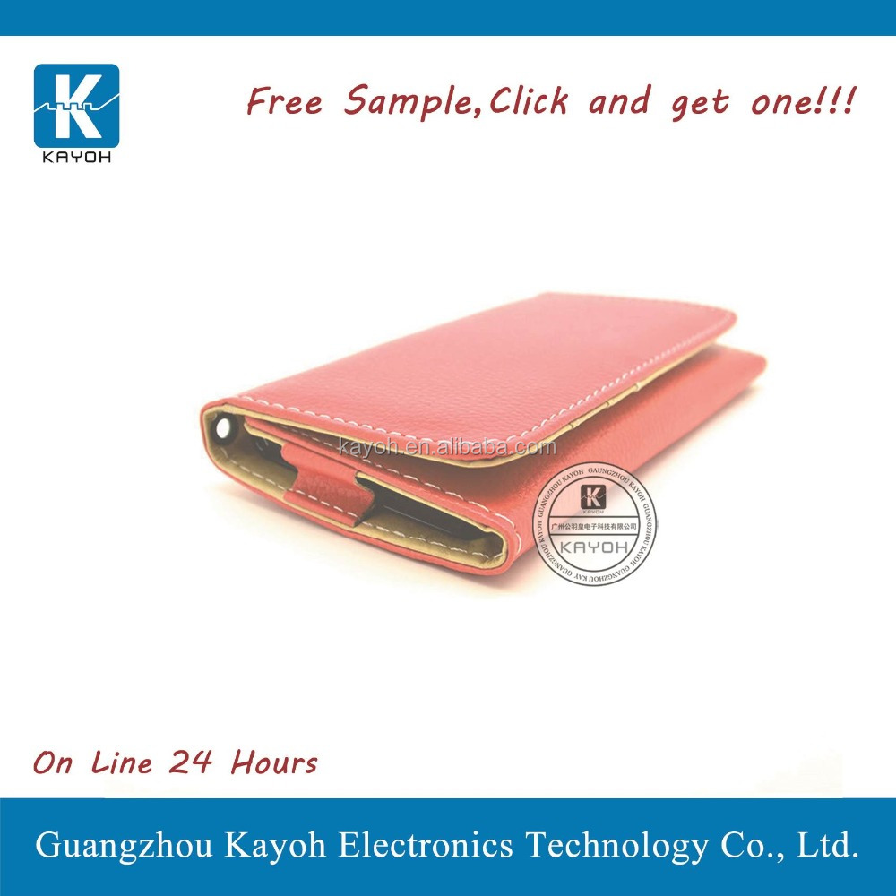 [kayoh] leather case cover for lg f60 pu leather case stand