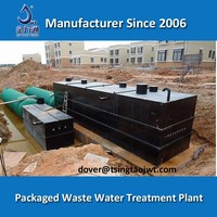 Zero Discharge eco friendly polluted water treatment system