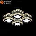 Contemporary light ceiling lamp moroccan crystal chandelier vintage lighting OM9019-4W