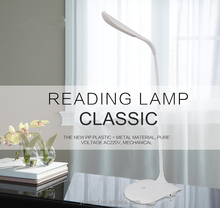 Chinese Classic Metal Office desk reading lamp Eco Friendly LED Bedside Reading Lamp