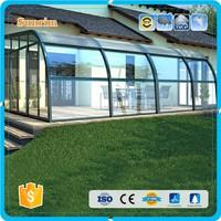 new design aluminum frame profile for clear vinyl porch enclosures florida