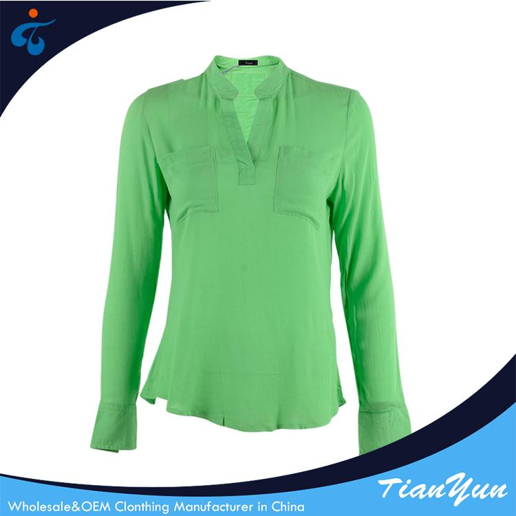 Low price of designer fancy cotton french style blouse