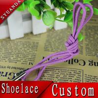 anti-slip glowing silicon printed shoe laces cords for lacross sticker