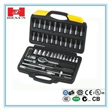 Chinese shan dong high quality socket wrench set for car repair tool