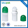 Sell well new type white plastic roll on bottle