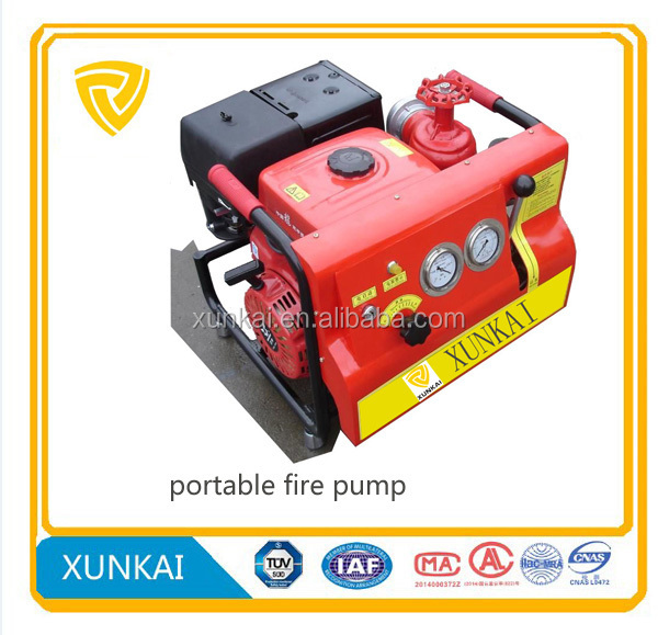 Firefighting equipment high pressure fire pump