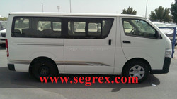 New Toyota Hiace 2.5 Diesel (DSL) and 2.7 Petrol, Standart Roof mini bus
