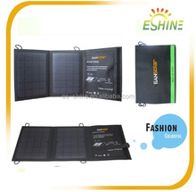 ESSHIN Portable Foldable Solar Panel Charger Power Bank with USB