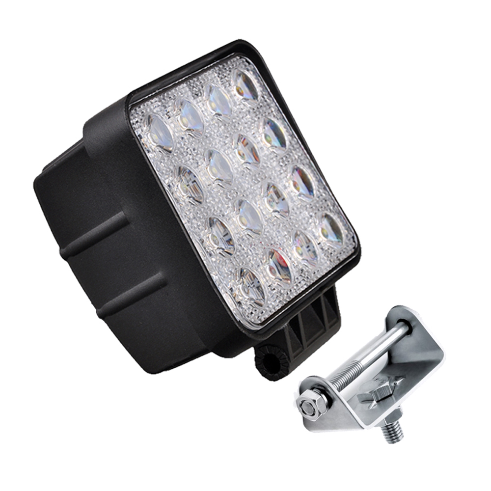 High Quality 48 watt Working led lights 12v offroad auto 48w LED offroad light for car