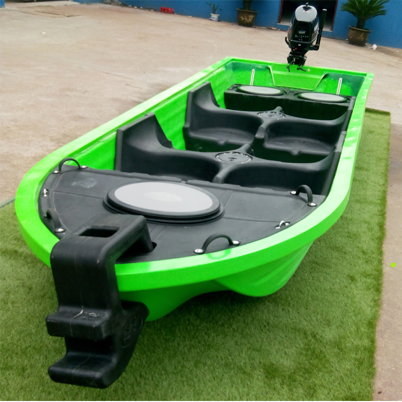 Plastic boat for fishing and recreation rescue boat never for Small plastic fishing boats