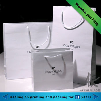 Elegant china wholesale gift shopping popular paper hand bags