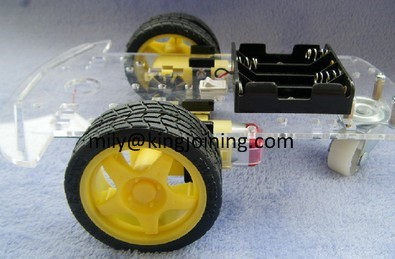 KJ106 2WD Robot Car Chassis Kit