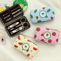 Cute Manicure Set Nail Clipper Pedicure