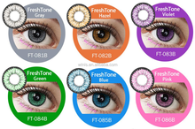 korea FreshTone Dolly 15mm big eyes soft yearly color contact lenses