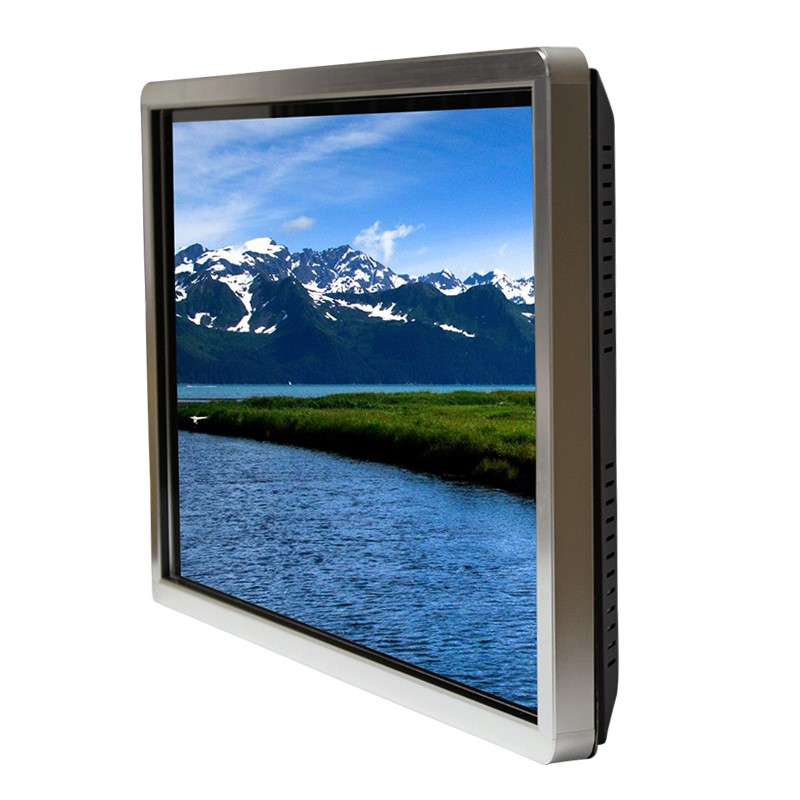 Wall mounted 42 inch touch screen monitor 2k for advertising touch screen monitor wifi