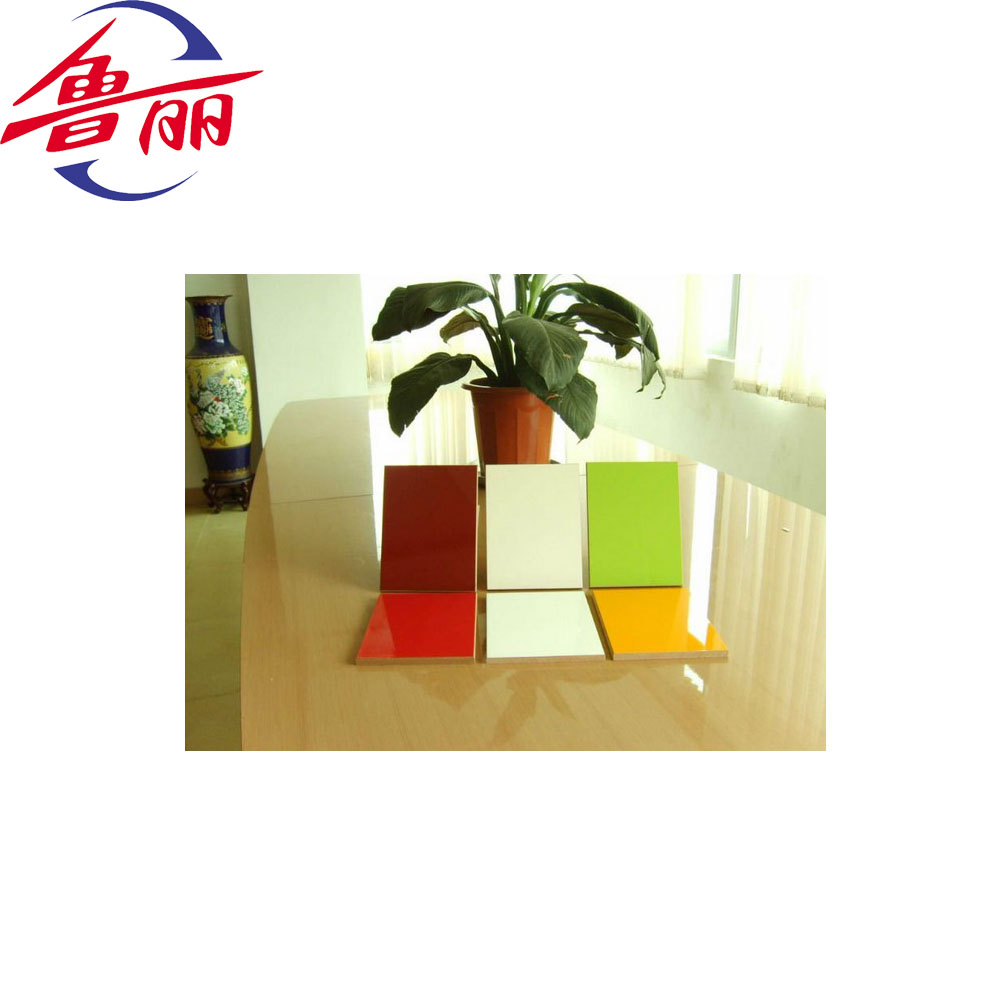 white melamine paper faced plywood for kitchen cabinets