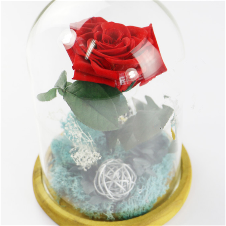 rose box luxury single preserved roses flower new products for wedding decoration and souvenir