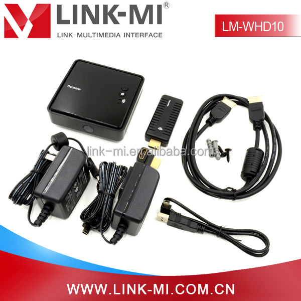 LM-WHD10 Portable design 10m Wireless 1080p HD TV Video Transmitter and Receiver