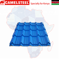 Kenya zinc coated flat roof tiles