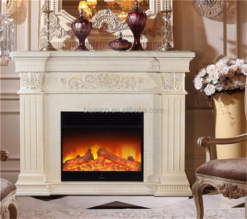 European Decorative Wood Burning Realistic Effect Electric ...