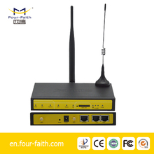 F3426 3g modem router mobile wifi RS232/LAN to HSUPA, VPN router for Smart Grid