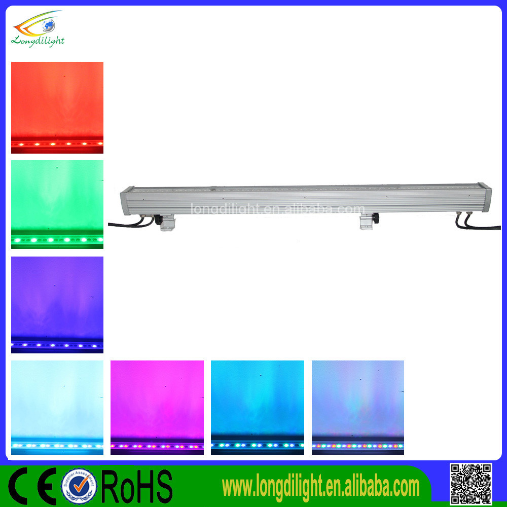 36*3w RGB 3in1 DMX Color Band Pix Wall washer light outdoor IP65 Bar light