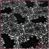 2016 newest black embroidery guipure velvet lace fabric