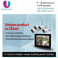 2017 China New Year Top 10 Hot selling home security camera system Wifi IP Camera 4ch wireless camera kits