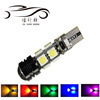 Led Car W5W 194 168 T10 5050 8+1SMD Canbus Autumotive Led License Plate Lamp Bulbs 12V DC