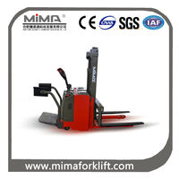MIMA semi pallet stacker jack with arm
