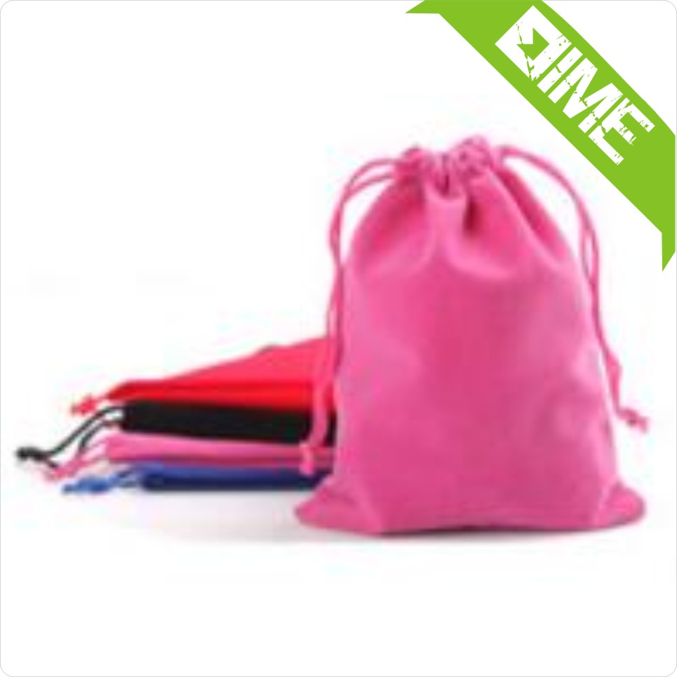 Mini Personalized Custom cotton Drawstring Pouch Bag