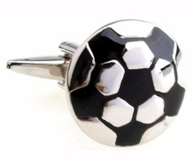 Promotional Amazon top selling fashion brand football cufflink