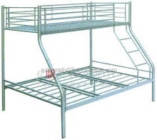 Triple Sleeper Stainless Steel Bunk Bed