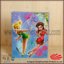 Lovely printed paper photo album with PVC sheet