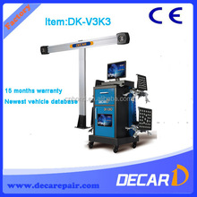 Decar 3D wheel alignment machine price cheaper than hunter alignment V3K3