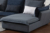 Professional sofa corner fabric chaise sofa of contracted