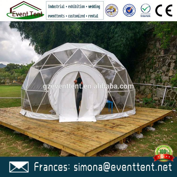 Super quality party dome yurt tent with big steel structure for Christmas party