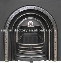 cast iron freestanding fireplace/free standing fireplace