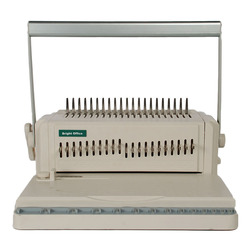 Plastic spiral note comb coil binding machine comb binder