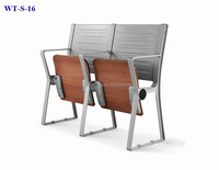 No.WT-S-16 College folding chair with writing table