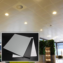 Acoustic panel ceilings perforated aluminium ceiling tile
