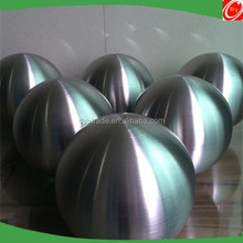 200 250mm brushed stainless steel hollow balls