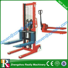 2014 Hot selling best quality low cost manual hand stacker