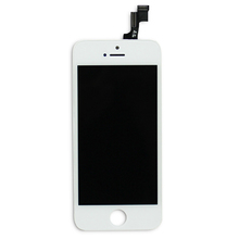 Replacement lcd for iphone 5s, display for iphone 5s, digitizer for apple iphone 5s with black and white